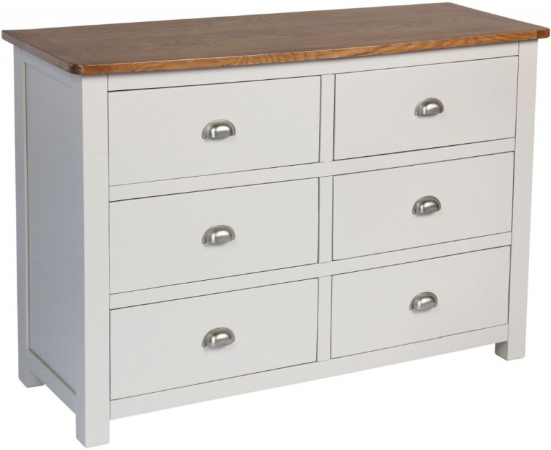 Sweet Dreams Cooper Grey 6 Drawer Chest