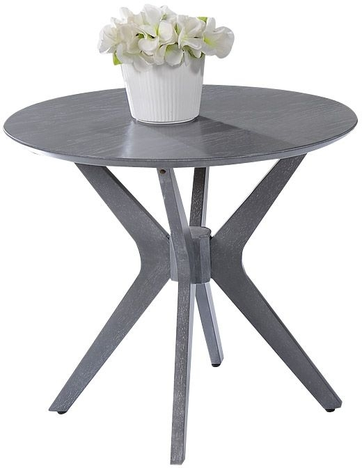 Sweet Dreams Delamere Grey Washed Lamp Table