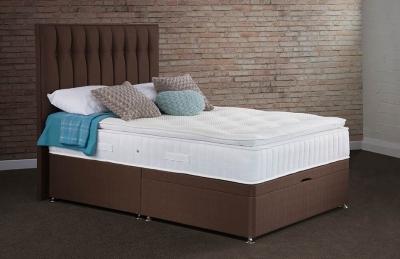 Sweet Dreams Symbol Pillow Top Sleepzone Springs Ottoman Divan Bed Set