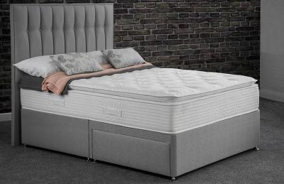 Sweet Dreams Calm Rest Silk 1000 Pocket Sprung Edge Divan Bed Set