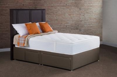 Sweet Dreams Topaz 1000 Pocket Sprung Platform Top Divan Bed Set