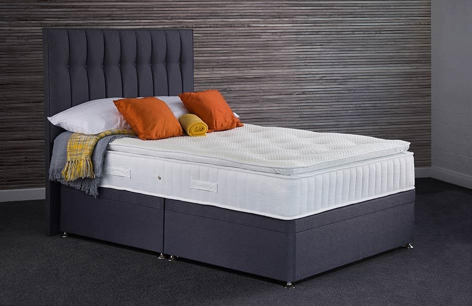 Sweet Dreams Symbol Pillow Top Sleepzone Springs Platform Top Divan Bed Set