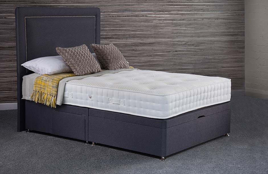 Sweet Dreams Antoinette 1000 Pocket Sprung Platform Top Divan Bed Set