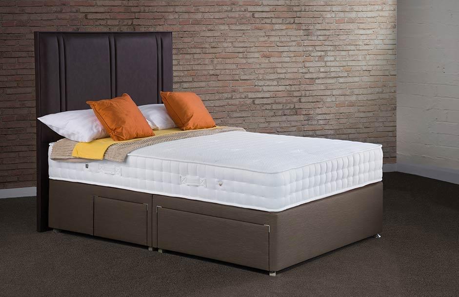 Sweet Dreams Jewel Memory 1500 Pocket Sprung Platform Top Divan Bed Set
