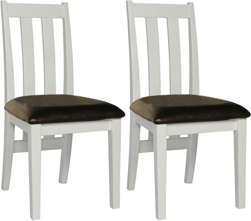 Sweet Dreams Dorset Painted Dining Chair (Pair)