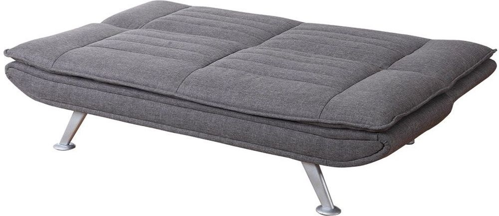 Sweet Dreams Denver 3 Seater Grey Fabric Sofabed