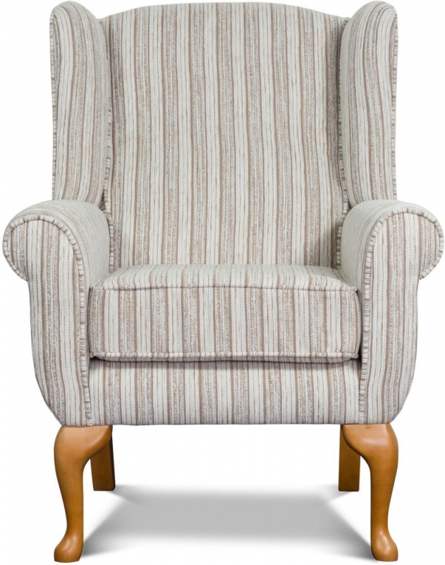 Sweet Dreams Elder 1 Seater Fabric Sofa