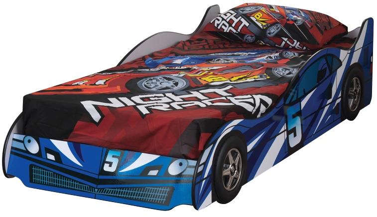 Sweet Dreams Formula Scorching Blue Striking Car Bed