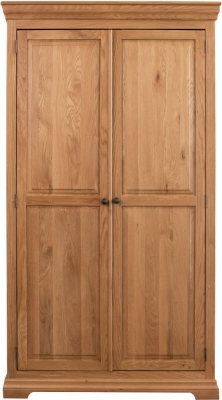 Sweet Dreams Grayson Oak 2 Door Wardrobe