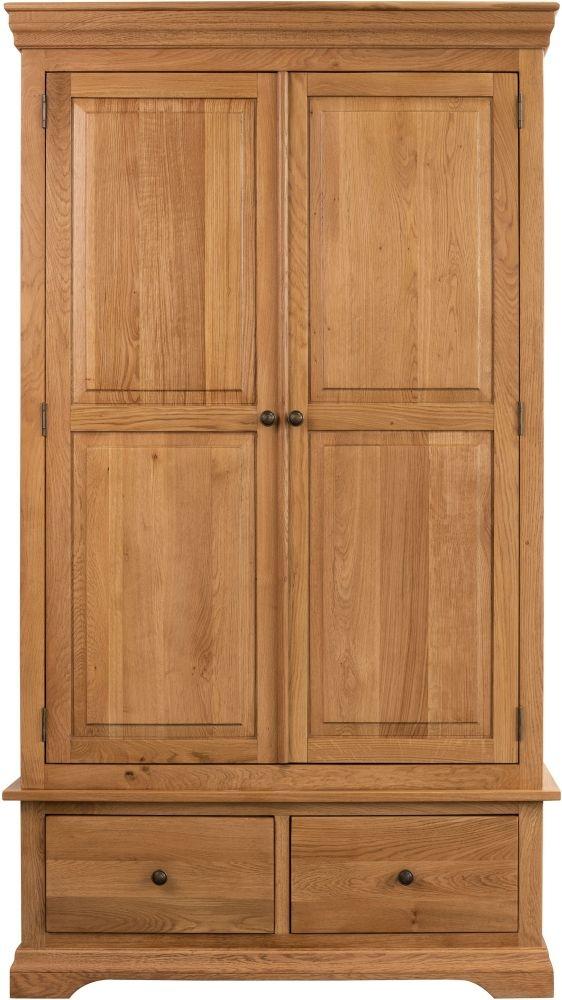 Sweet Dreams Grayson Oak 2 Door 2 Drawer Wardrobe