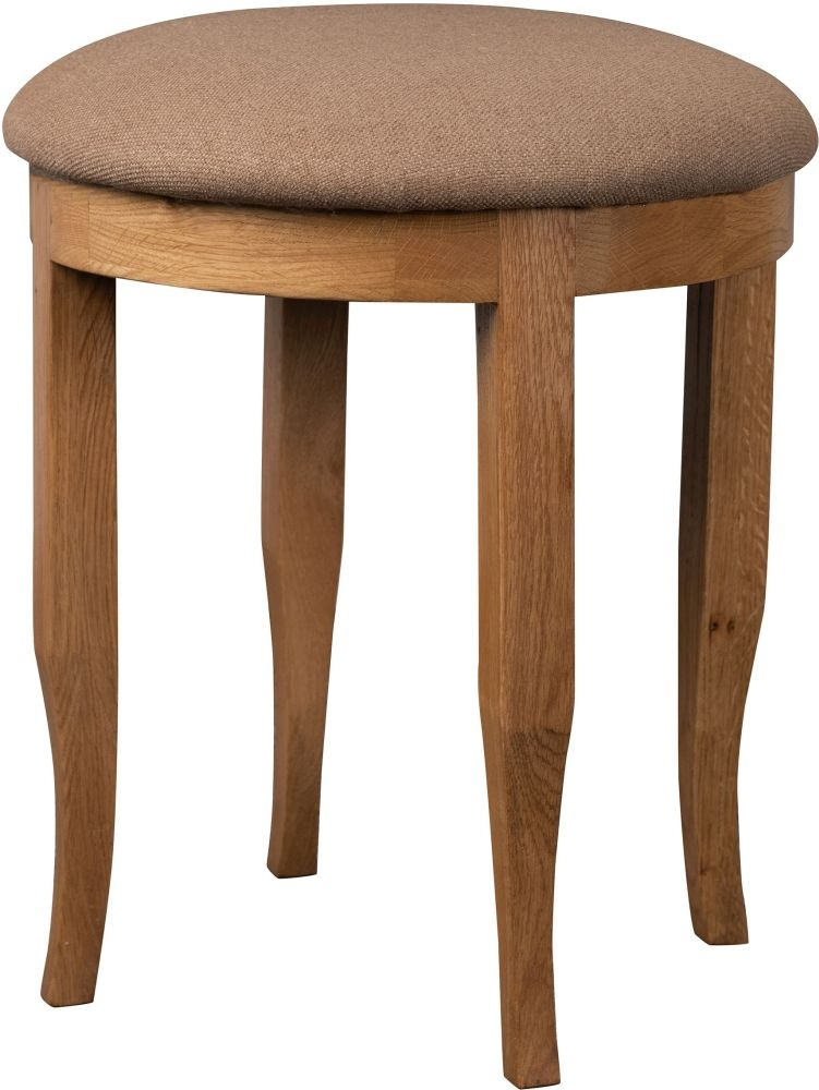 Sweet Dreams Grayson Oak Dressing Stool