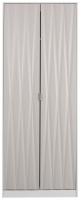 Sweet Dreams Jenson Grey and White 2 Door Wardrobe