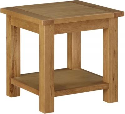 Sweet Dreams Kielder Oak Lamp Table