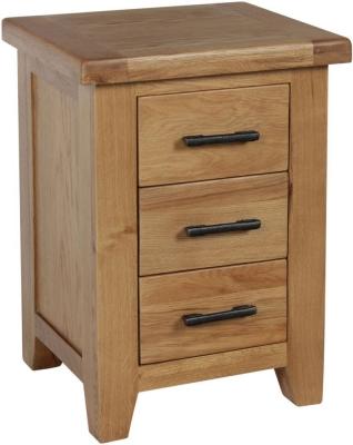 Sweet Dreams Lawrence Oak Bedside Cabinet