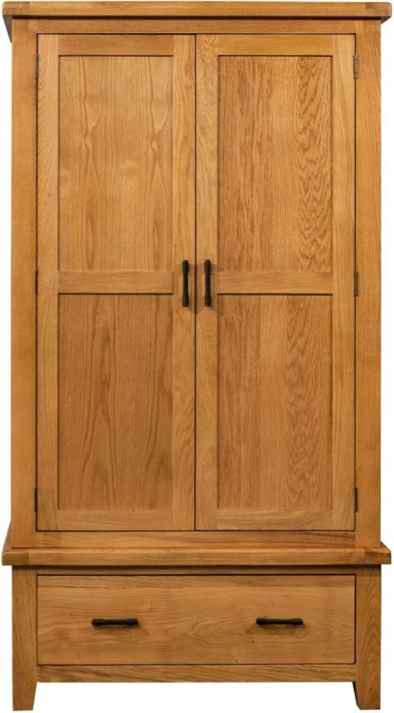 Sweet Dreams Lawrence Oak 2 Door Wardrobe