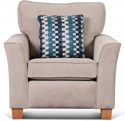 Sweet Dreams Newark 1 Seater Fabric Sofa