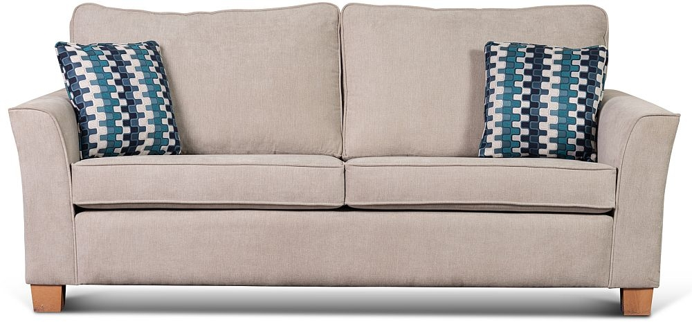 Sweet Dreams Newark 3 Seater Fabric Sofa