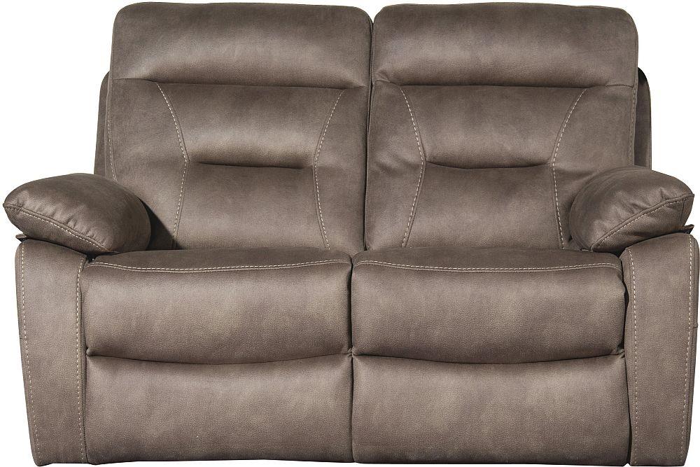 Sweet Dreams Philidelphia 2 Seater Pecan Fabric Recliner Sofa