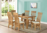 Sweet Dreams Rossendale Oak Extending Dining Table and 4 Chairs
