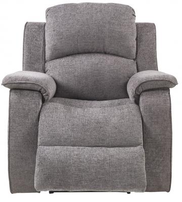 Sweet Dreams Sacaramento 1 Seater Dusk Fabric Recliner Sofa