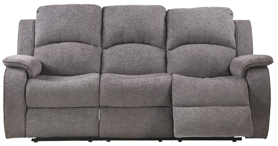 Sweet Dreams Sacaramento 3 Seater Dusk Fabric Recliner Sofa