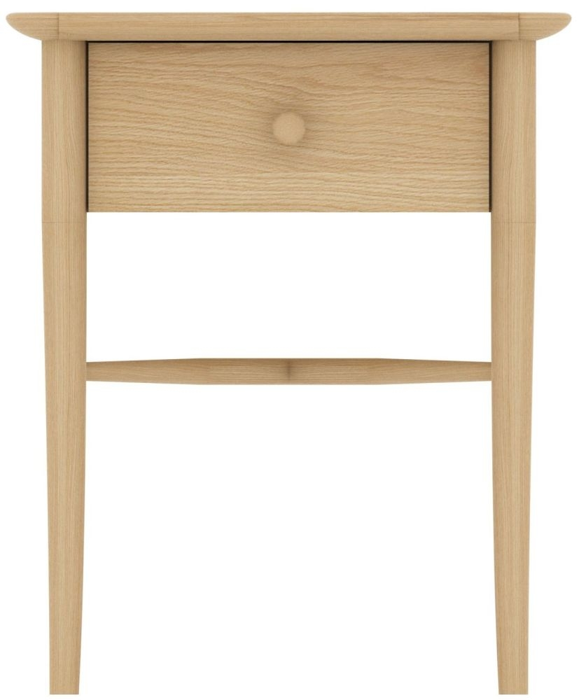 TCH Anais Oak Bedside Cabinet - 1 Drawer