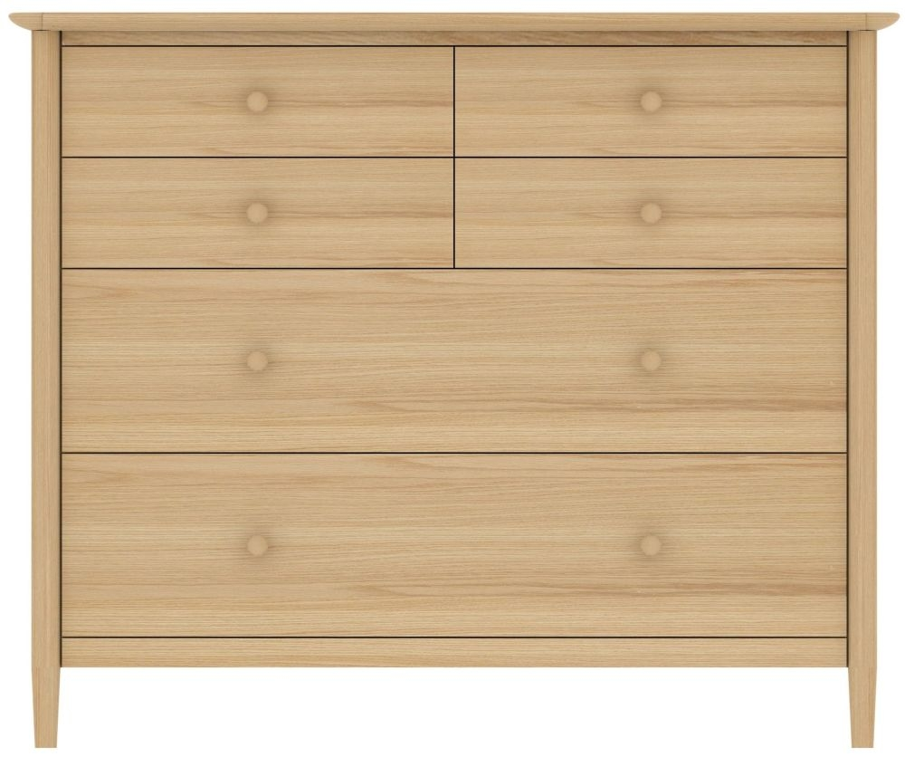 TCH Anais Oak 2+4 Drawer Chest