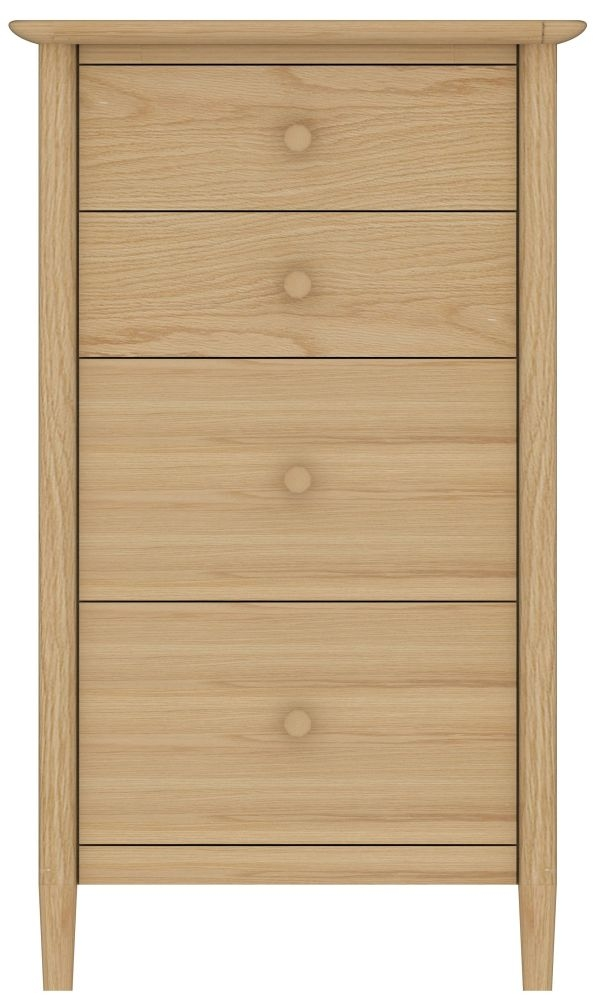 TCH Anais Oak 4 Drawer Chest