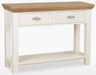 TCH Coelo Large Console Table - Oak and Painted