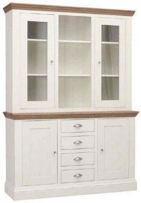 TCH Coelo 4 Door Combi Medium Dresser - Oak and Painted
