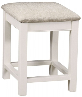 TCH Coelo Painted Fabric Seat Bedroom Stool