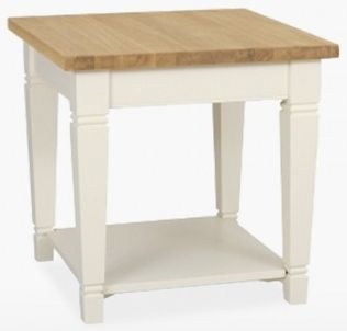 TCH Coelo Lamp Table COL118 - Oak and Painted