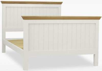 TCH Coelo High Foot End Panel Bed - Oak and Painted