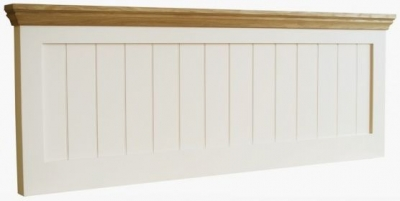 TCH Coelo Panel Headboard - Oak and Painted