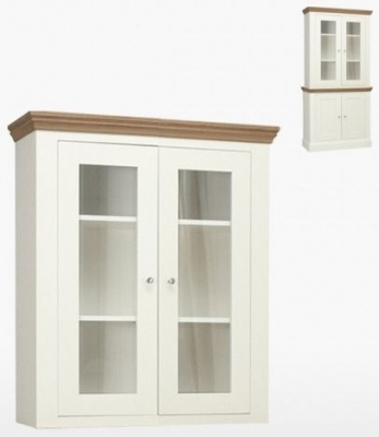 TCH Coelo Small Dresser Top COL512G with Lighting - Oak and Painted