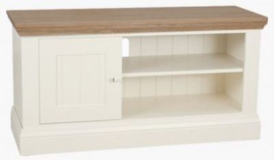 TCH Coelo Medium TV Unit - Oak and Painted