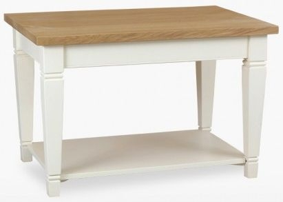 TCH Coelo Medium Coffee Table COL116 - Oak and Painted
