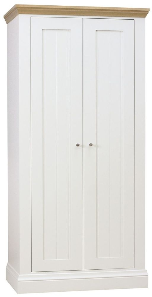 TCH Coelo 2 Door Wardrobe - Oak and Painted