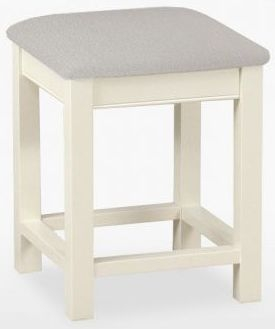TCH Coelo Painted Leather Seat Bedroom Stool
