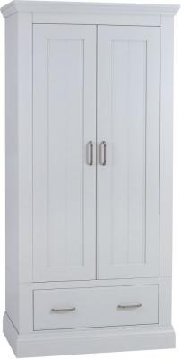 TCH Coelo Painted 2 Door 1 Drawer Wardrobe