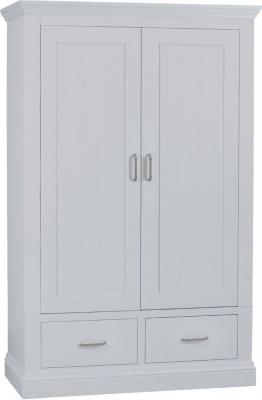 TCH Coelo Painted 2 Door 2 Drawer Wardrobe