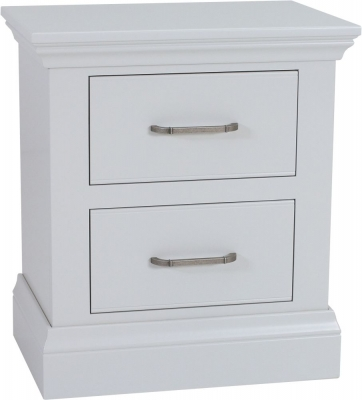 TCH Coelo Painted 2 Drawer Large Bedside Cabinet