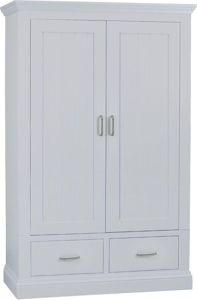 TCH Coelo Painted 2 Door 2 Drawer Wardrobe