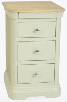 TCH Cromwell Bedside Chest - Oak and Painted