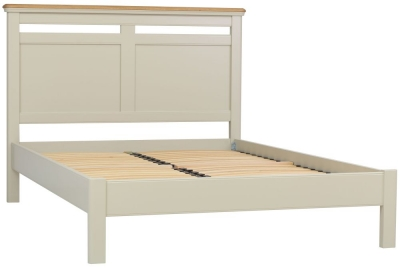 TCH Cromwell Panel Bed - Oak and Painted