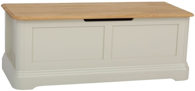 TCH Cromwell Blanket Chest - Oak and Painted