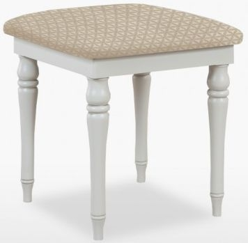 TCH Cromwell Leather Seat Stool - Oak and Painted