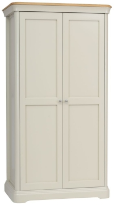 TCH Cromwell 2 Door Wardrobe - Oak and Painted