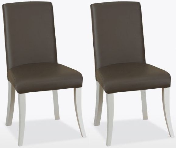 TCH Cromwell Balmoral Leather Dining Chair (Pair)