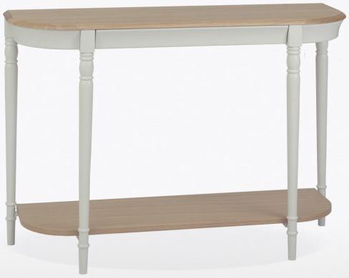 TCH Cromwell Console Table - Oak and Painted